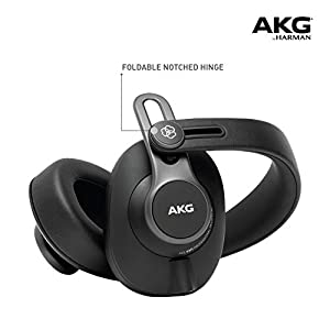 AKG Pro Audio K371 Over-Ear, Closed-Back, Fol...