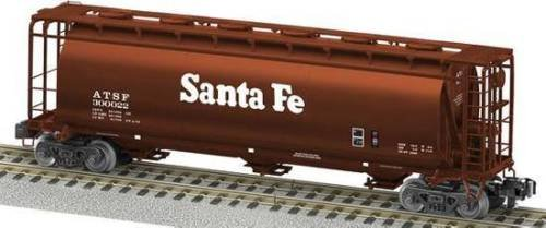 SP Whistle Stop LIO48864 American Flyer Cylindrical Hopper Santa Fe44; Multi Color from SP Whistle Stop