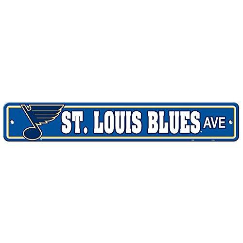 Fremont Die NHL St. Louis Blues Street Sign, One Size, Multicolor