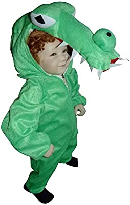 An64 Disfraz de cocodrilo, Tallas 9-12 meses (74-80 cm) Trajes de Carnaval de cocodrilo, Traje de Carnaval de cocodrilo, Para Niños, Niñas, Carnaval ...