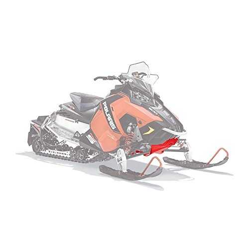 Genuine Polaris 2015, 2016 Axys Rush, Switchback 600, 800 Snowmobiles Red Ultimate Skid Plate 2880383-293 (Snowmobile Skid Plates)