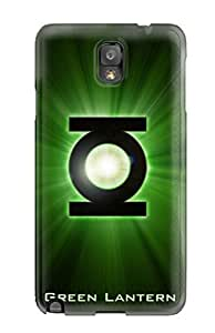 Galaxy Case - Tpu Case Protective For Galaxy Note 3- Green Lantern