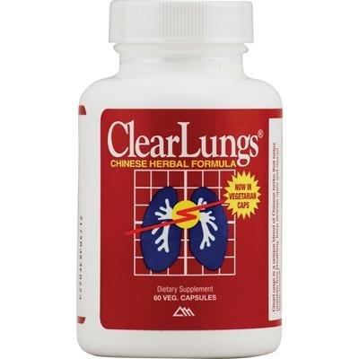 Ridgecrest Herbals ClearLungs Red Original Formula - 60 per pack -- 3 packs per case.