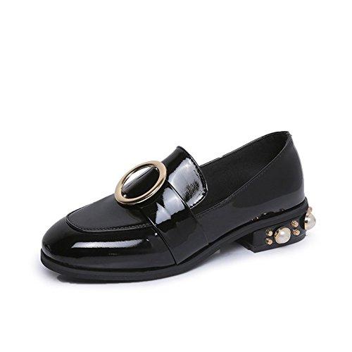 Fashion Hundred Schuhe,Student Girl Schuhe,Schuhen Mit Flachen Absätzen A