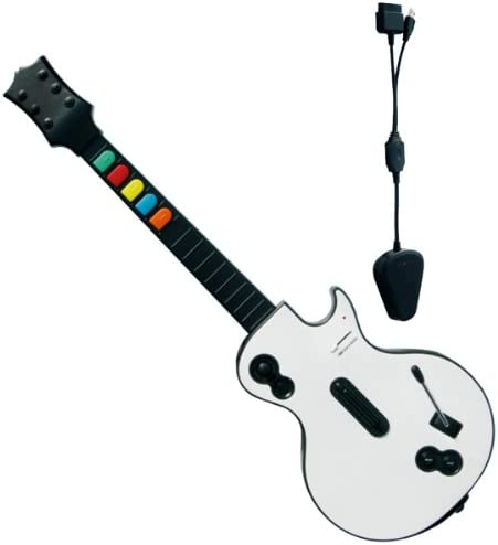Guitarra Rock Band Guitar / Guitar Hero inalámbrica: Amazon.es ...