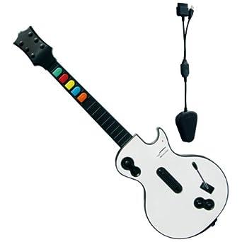 Guitarra Rock Band Guitar / Guitar Hero inalámbrica: Amazon.es: Videojuegos