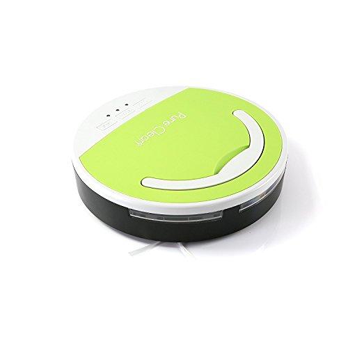 [해외]순수 클린 스마트 로봇 청소기, 자동 진공 로봇 스위퍼 클리너 다 표면 바닥 클린 업그레이드 버전/Pure Clean Smart Robotic Vacuum Cleaner, Automatic Vaccum Robot Sweeper Cleaner Multi-Surface Floor Clean Upgraded Version