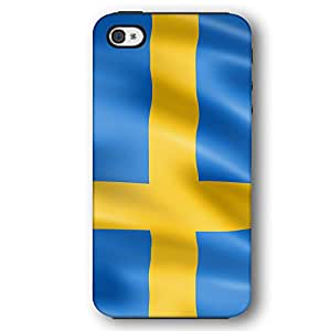 Swedish Sweden Flag iPhone 4 and iPhone 4S Armor Phone Case