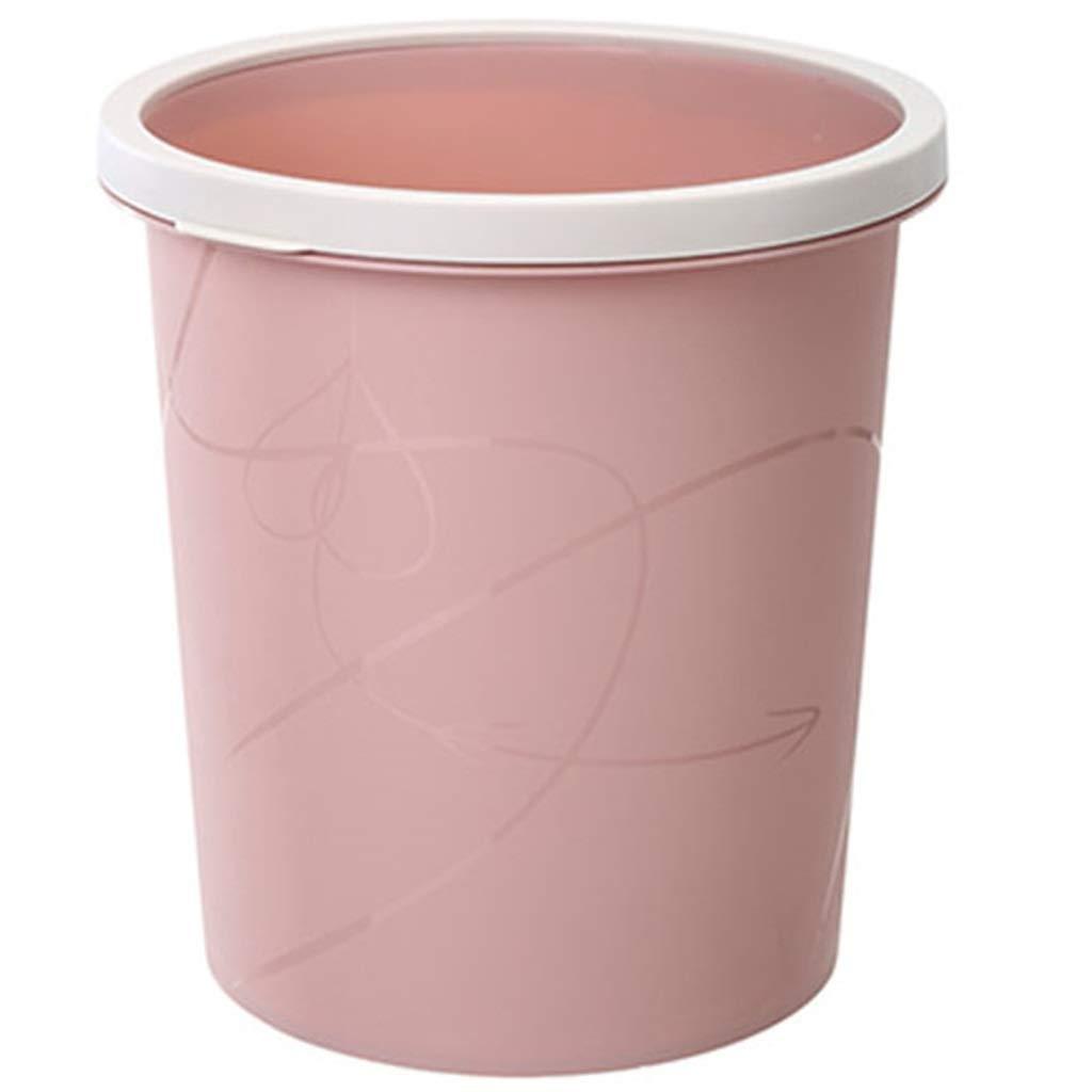 Bote de basura basura basura Mini caja de almacenamiento de papel de desecho sin tapa Papelera para oficina Hogar Cocina Dormitorio 2fa7db