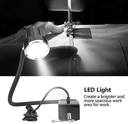 Máquina de coser 5W Luz LED Lámpara de trabajo industrial con ...