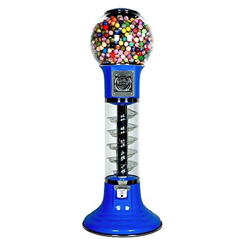 - Wiz - Kid Spiral Gumball Vending Machine - Blue