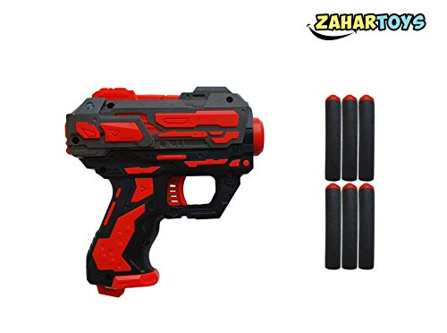 (ZAHAR Toys - Powerful Blaster Toy Gun with Soft Foam Darts - up to 46FT -)