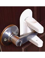Jolik Door Lever Lock (2 Pack) Child Proof Doors & Handles 3M VHB Adhesive - Child Safety