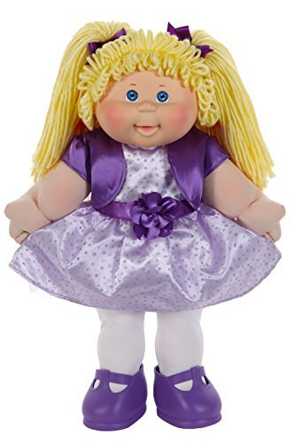 Used, Cabbage Patch Kids Classic 16 inch Doll with Purple for sale  Delivered anywhere in USA