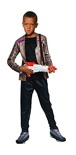 Finn Costume (Rubie's Star Wars: The Force Awakens Child's Deluxe Finn Costume, Medium)
