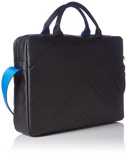 Calvin Klein JeansLOGAN LAPTOP BAG - Bolso bandolera Hombre Negro - Schwarz (BLACK 001 001)