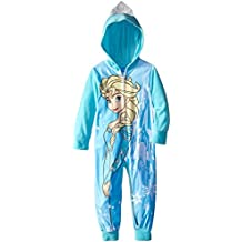 Disney Little Girls' Frozen Snow Queen Hooded Blanket Sleeper