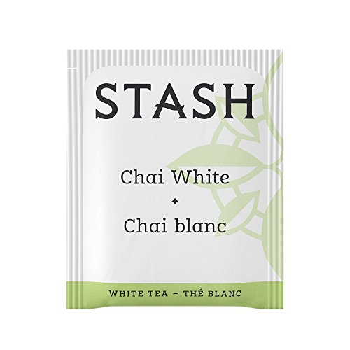 Stash Tea White Chai Tea 1000 Count Tea Bags in Foil Individual Spiced White Tea Bags for Use in Teapots Mugs or Cups, Brew Hot Tea or Iced Tea by Stash Tea (Image #2)