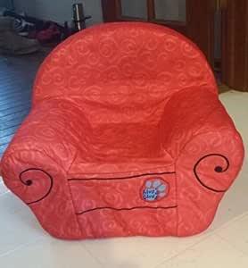 Amazon Com Blues Clues Foam Red Thinking Chair Plush
