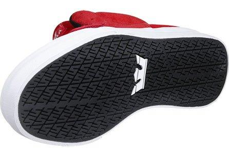 Sneaker Uomo Supra Mens Rock Rosso Scamosciato 10, Donna 11,5 D (m)
