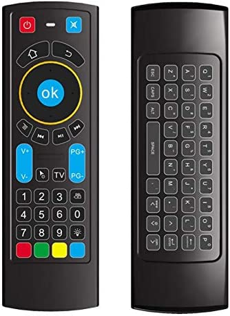 Calvas MX3 PRO Backlit Air Mouse Smart Remote Control 2.4G Wireless Keyboard 73 keys For X96 mini KM9 A95X H96 MAX Android TV Box