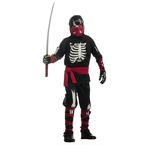 Halloween Sensations Child's One Dead Ninja Costume, Large