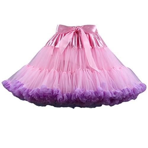 5 en Pettiskirt Tulle Couleurs Tulle Court Image Ballet Ballet Tutu Varies Tutu Femme YAANCUNN Jupe Jupon Comme en qTUvxAwg