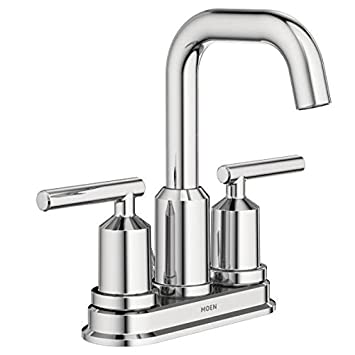 Moen WS84228 Two-Handle High Arc Bathroom Faucet, Chrome - - Amazon.com