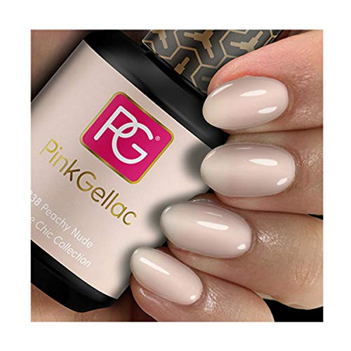 Pink Gellac 238 Peachy Nude Shellac UV / LED Gel Nagellack 15ml Nail Polish