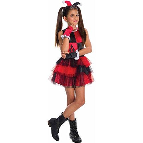 Rubie's Girls Harley Quinn Costume Large -