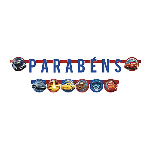 Regina Faixa Parabens R298 Cars 3
