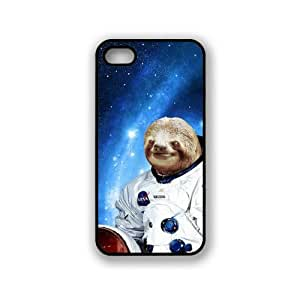 Hipster Astronaut Sloth iPhone 5 & 5S Case - Fits iPhone 5 & 5S