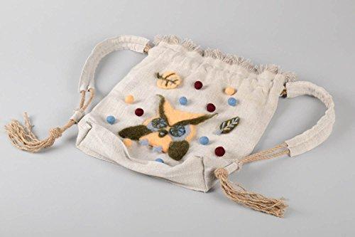 Made Fabric Bag Fashion Hand Bag Linen Bag For Women
