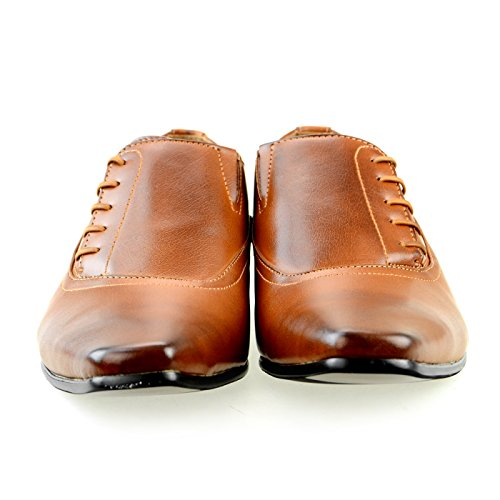 Chaussures À Lacets Mm / One Hommes Chaussures Derby Oxford Collection Intorechato Mpt125-6 Marron