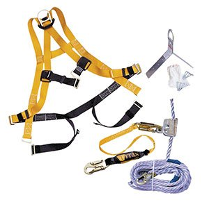 Roofing Fall Protection (Universal Titan Roofing Fall Protection Kit - R3-TRK4500-Z7/50FTAKU)