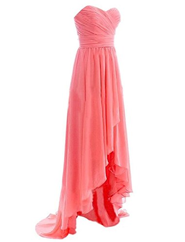 Blush Botong Prom Bridesmaid Dress Women's Dress Short Sweetheart Chiffon Blush qOUzWB4q