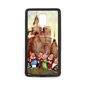 Snow White and Seven Dwarfs for Samsung Galaxy Note 4 Cell Phone Case & Custom Phone Case Cover R44A650300