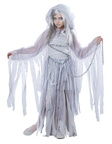 Ghost Costumes Girl (California Costumes Haunted Beauty Child Costume, Medium)