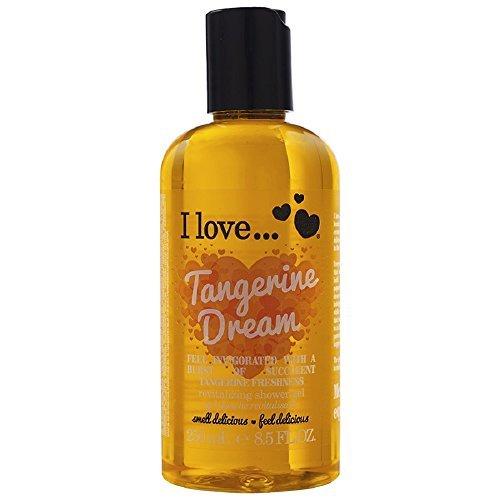 I Love...Tangerine Dream Revitalising Shower Gel 250ml by I Love (Tangerine Dream Cleanser)