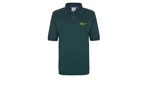 Polo producto oficial, de la marca Cub Scout Verde verde 28 cm ...