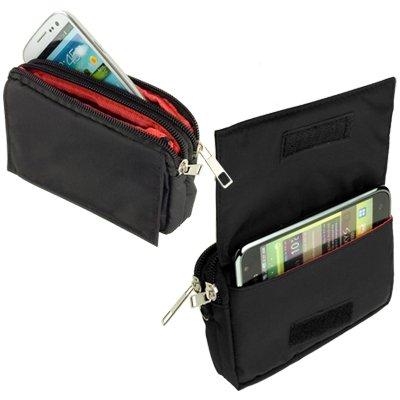 yayago -Travel-Case- Quertasche Tasche Hülle in Schwarz für Apple iPhone 5S / 5 S / 6