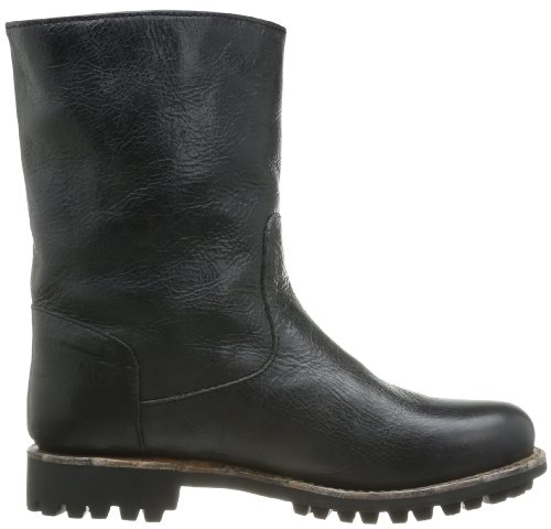 Blackstone High Zipperboot Fur Gl54 Damen Biker Boots Schwarz (nero)