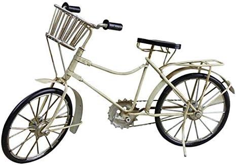 SSBH Hierro Modelo de bicicleta decorativa, Nordic Retro Modelo de ...