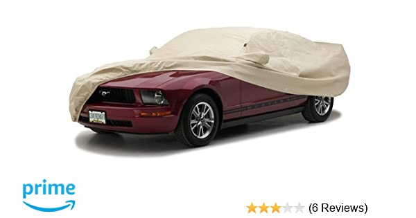 Tan Covercraft Ready-Fit Deluxe 380 Series Long Car Cover