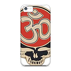 AlissaDubois Iphone 5c Shockproof Hard Cell-phone Cases Customized Fashion Grateful Dead Skin [ywi17544dFme]