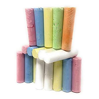 Play Day Sidewalk Chalk 20 Pieces: Office Products
