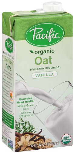 Pacific Natural Foods Organic Oat Non-Dairy Beverage, Vanilla, 32 oz