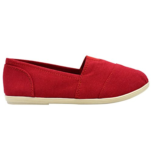 Soda Women Object Flats-Shoes Neues Rot