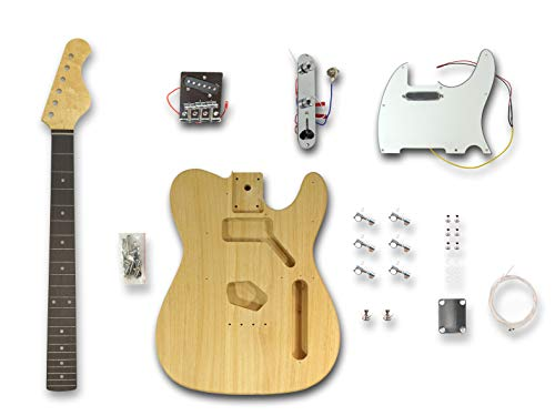 DIY Electric Guitar Kits for Telecaster Style Guitar,Poplar wood Body