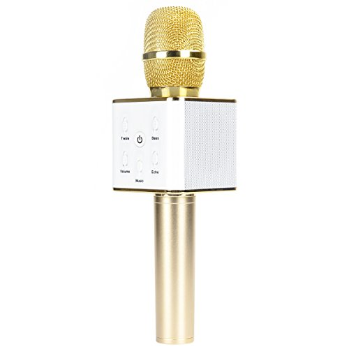 CrazyFire Wireless Karaoke Microphone,Bluetooth...